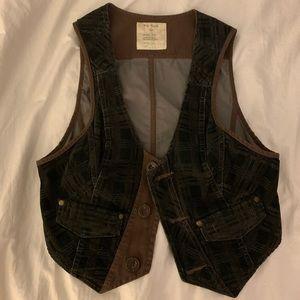 Free People vintage suede vest